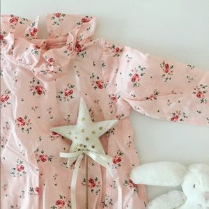 Other - Baby Girl pink floral one piece   ⭐️